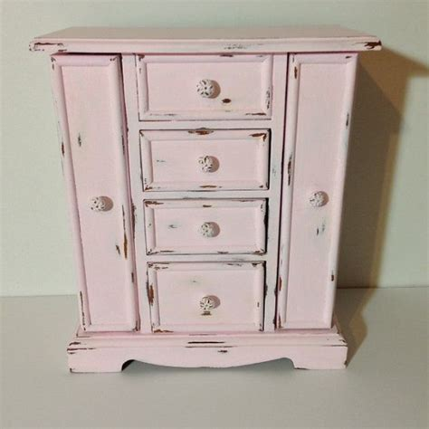 armoire shabby chic 16 best images about jewelry armoire shabby chic on