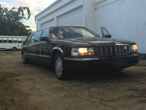 1999 cadillac northstar sell used 1999 cadillac northstar limousine 4 door 4 6l