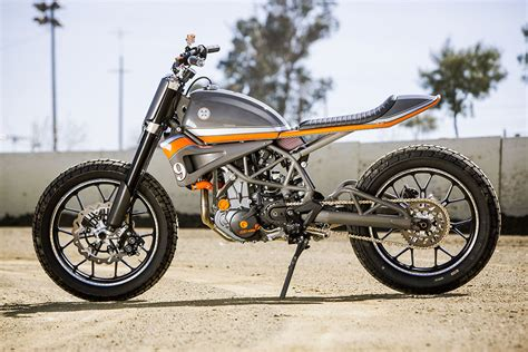 Barn Exhaust Fan Ktm 690 Tracker By Roland Sands Design Bikebrewers Com