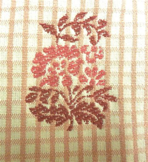 Colonial Upholstery Fabric by Wavrly Lafayette Plaid Colonial Drapery Upholstery Fabric