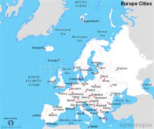 Map Of Europe Cities by Europe Cities Map Cities Map Of Europe
