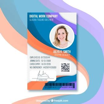id card template freepik id card designs vectors photos and psd files free