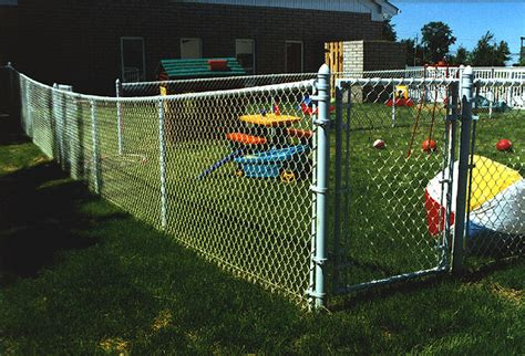 proof chain link fence aluminized rust proof chain link fence by elyria fence