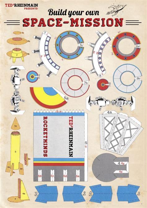 Rocket Papercraft - rockeminds ufos rocket papercraft