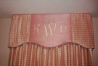 monogram window curtains custom baby girl pink nursery curtains window treatments