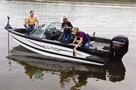 best aluminum fishing boat packages lund offers fishy family fun boats