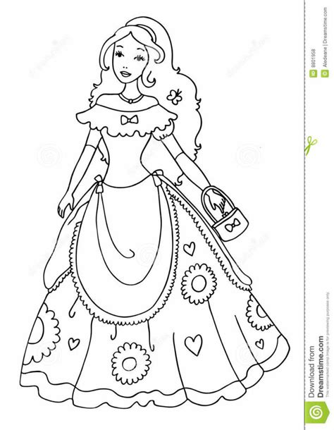 little girl princess coloring page coloring pages photo little princess coloring pages