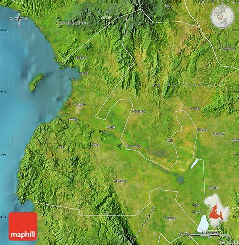 phil map via satellite satellite map of maguindanao