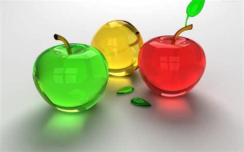 3 fruits in 3d fruit wallpaper