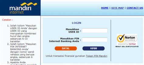 cara membuat rekening bank palsu alamatika cara aktivasi akun untuk log in mandiri internet banking