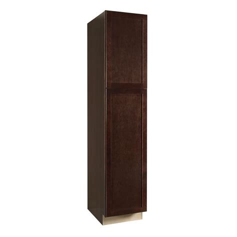 84 pantry cabinet for kitchen hton bay shaker assembled 18 x 84 x 24 in pantry