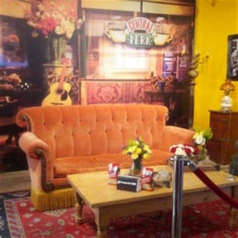 friends orange couch central perk friends pop up closed 114 photos pop