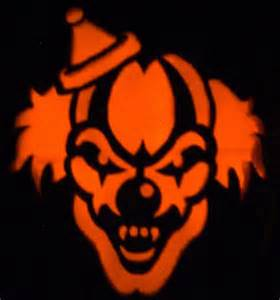 evil clown stencils scary clown holiday s fright night