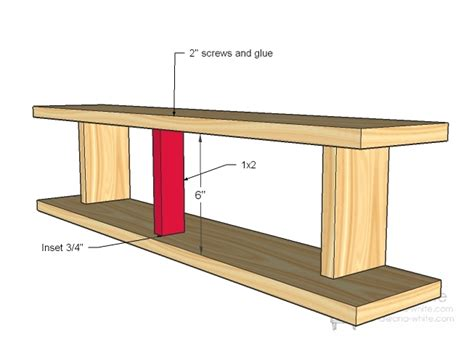 plans wood shelf projects   small wood