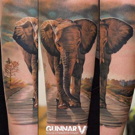 tattoo sleeve elephant 27 best 3d realistic elephant tattoo arm images on