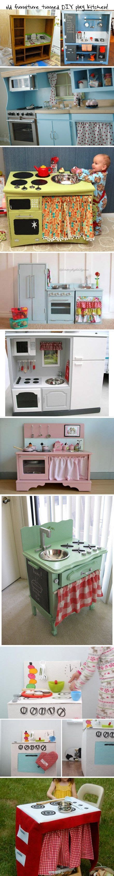 play kitchen from old furniture old furniture turned diy play kitchen