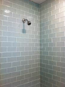 Glass Subway Tile Bathroom Ideas by Subway Tile Alex Freddi Construction Llc