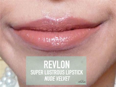 Lipstik Revlon Really revlon lustrous lipstick velvet silver