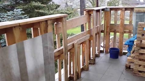 balkongelã nder balkongel 228 nder aus holz paletten