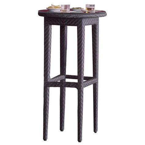 Wicker Bar Table with Hospitality Rattan Soho Wicker Pub Table Wickercentral