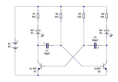 transistor q1 bc548 os componentes