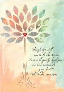 beautiful sympathy card for anniversary of a it takes two inc