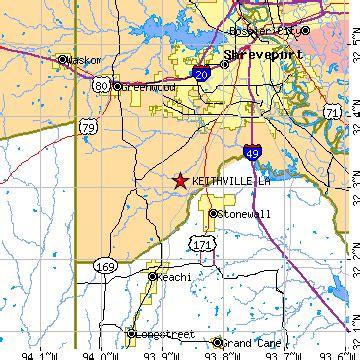 keithville louisiana map keithville louisiana la population data races