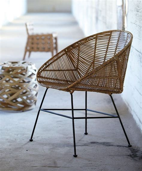Olive House Metal Chair woven rattan chair joseph chair the olive