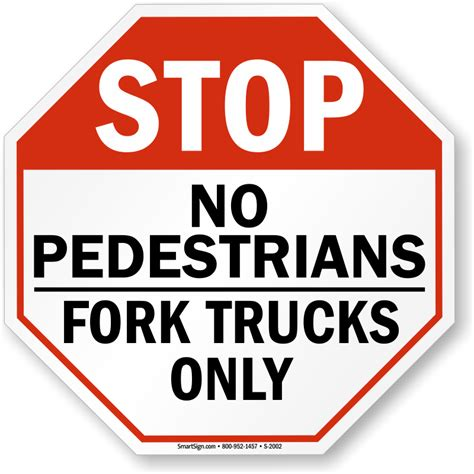 no crossing no pedestrian traffic signs