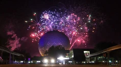 new year s eve 2010 2011 at epcot in walt disney world