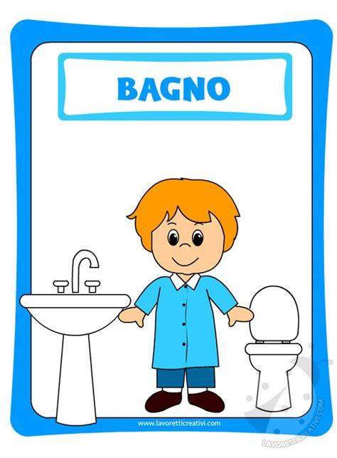 cartello bagni bagni bambini scuola materna duylinh for