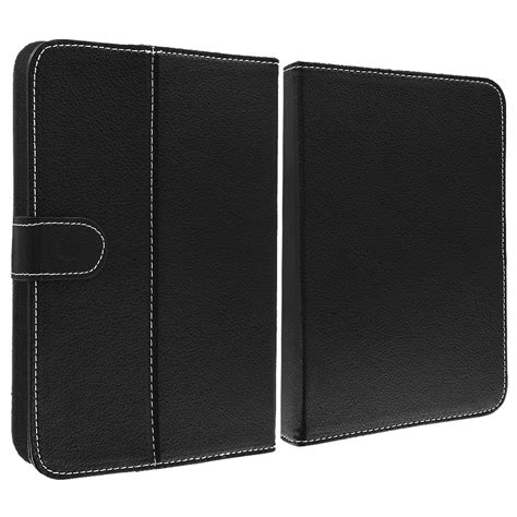 Leather Universal 7inch universal 7 inch folio flip stand cover accessory 7in for tablets ebay