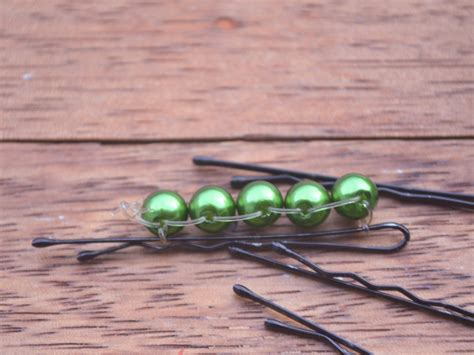 bobby bead how to make beaded bobby pins 7 steps with pictures