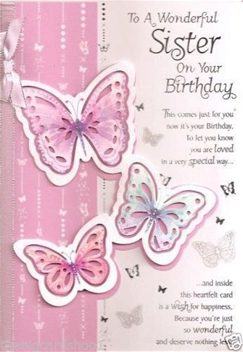 printable birthday cards for a sister happy birthday sister quality birthday cards happy