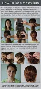 hairstyles how to do a side bun download