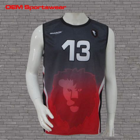 jersey design volleyball mens professional custom design sleeveless mens volleyball