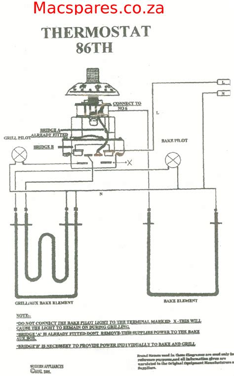 wiring diagrams stoves switches and thermostats