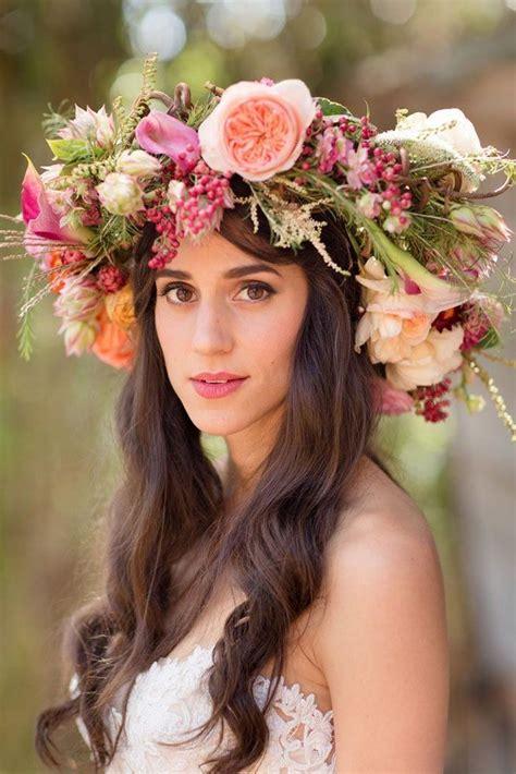 Mahkota Crown Bulu Warna Warni 20 inspirasi mahkota bunga atau flower crown yang cantique