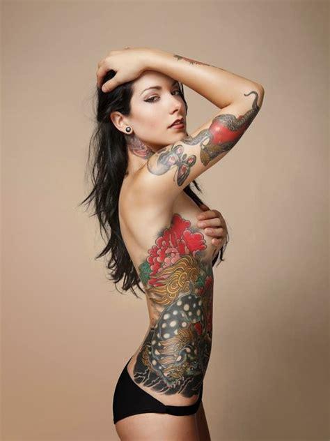 tattoo of japanese woman verena kosheen asian butterfly apple snake female tattoo