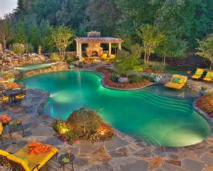 Beautiful Backyards With Pools Beautiful Backyards Inspiration For Garden The Garden Glove