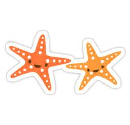 Large Animal Wall Stickers quot cute kawaii starfish animal cartoon sticker quot stickers by