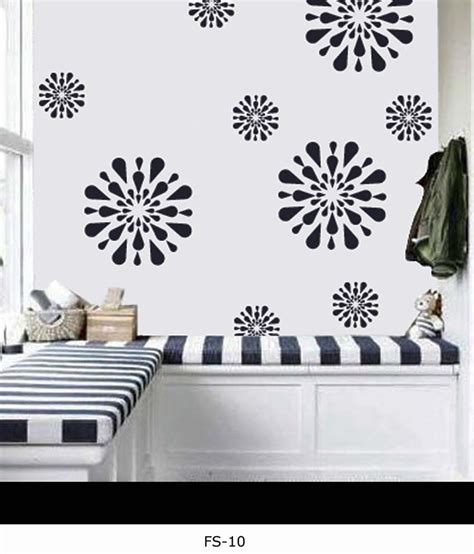 decorze flower stencils for wall painting buy decorze flower stencils for wall painting at best