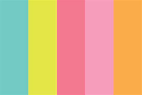 of miami colors post it miami color palette