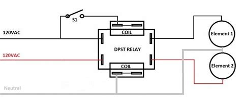 2 pole relay wiring diagram 27 wiring diagram images