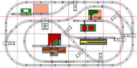 train layout animation animated o gauge layout plans model trains pinterest