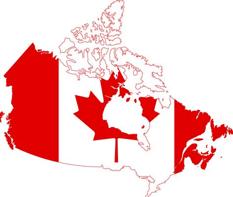 free us canada vector map vector canadian flag clipart best