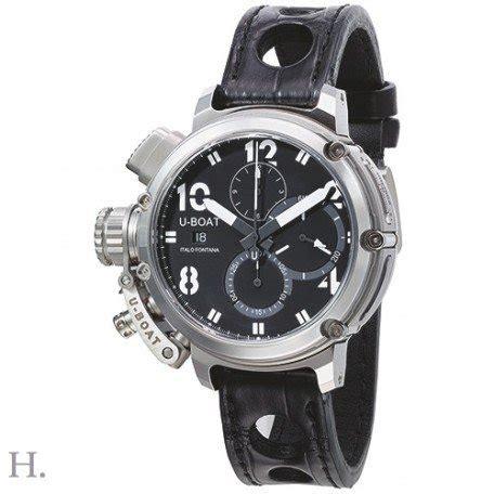 u boat chimera 46mm limited edition watch u boat chimera 8013 46mm sideview men s chronograph