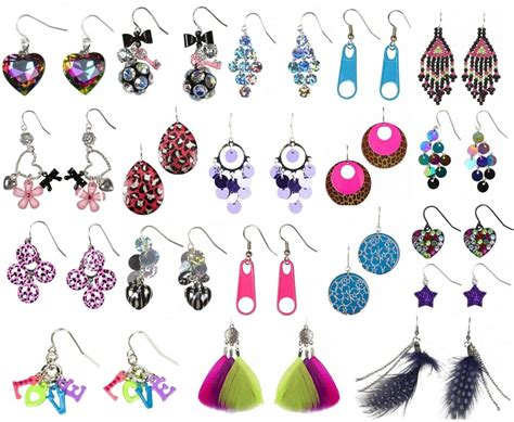 Where To Buy Justice Gift Cards - nwt justice girls nickel sensitive dangle earrings u pick sequin jewel glitter ebay