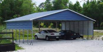 Closed Carport Boxed Eave Carports A Frame Carports In Various Sizes