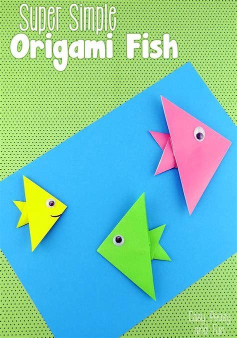 origami f 16 tutorial easy origami fish origami for kids origami fish